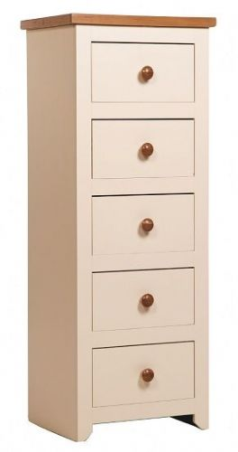 Jacksdale 5 Drawer Narrow Chest
